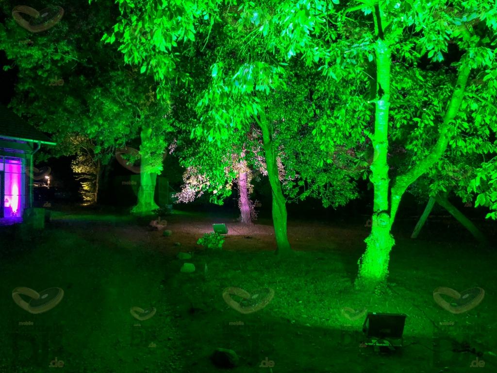 Schloss Linnep Aussenbeleuchtung