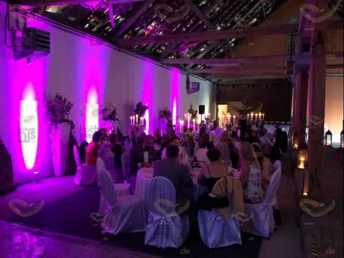 Hochzeitsdinner in Schloss Meierhof