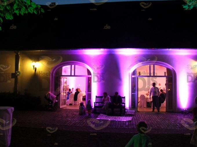Terrasse des Schlosses Morsbroich