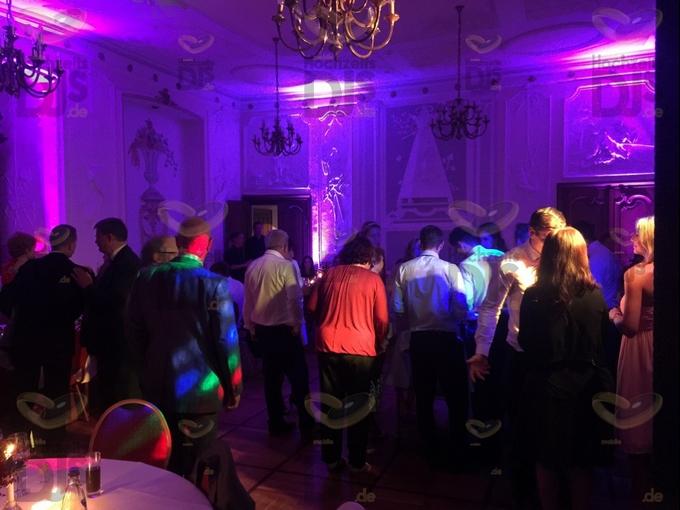 Hochzeitsfeier in Schloss Schellenberg