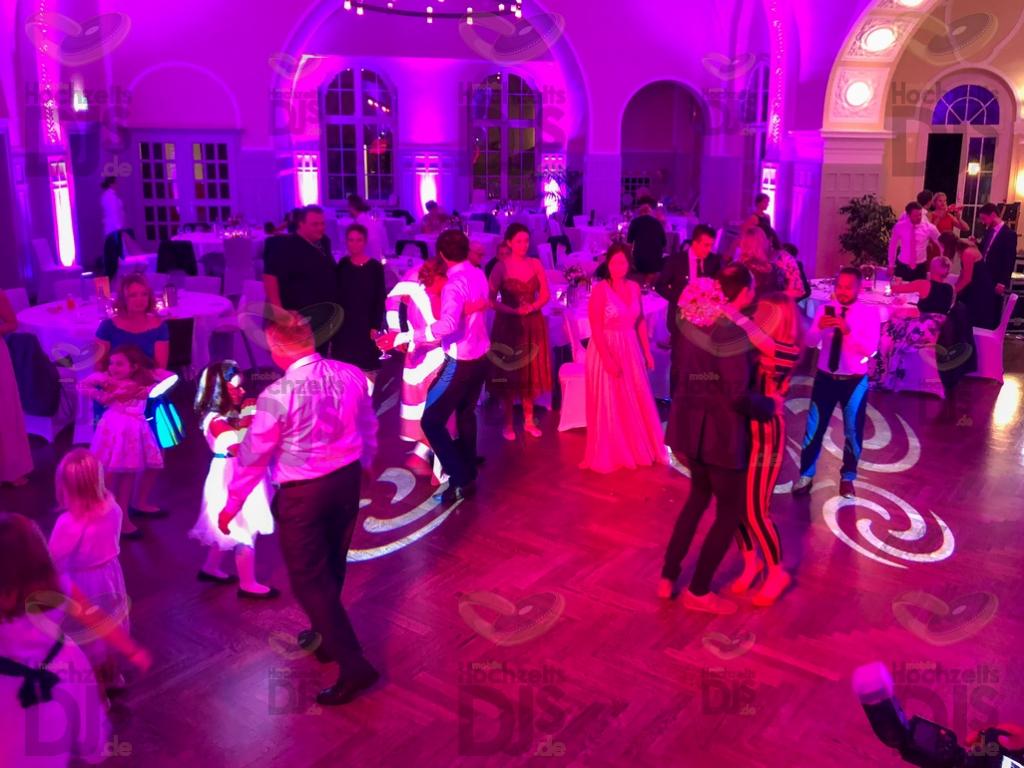 Hochzeitsparty im Stadtgarten Steele