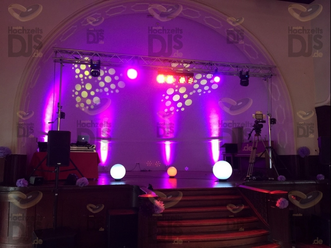 Aufbau DJ-Paket Superior A im Stadtwaldhaus Krefeld