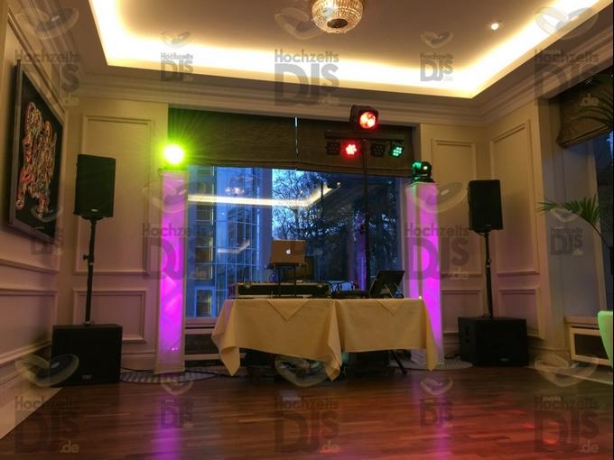 Aufbau DJ-Paket Superiorr B im  Steigenberger Parkhotel