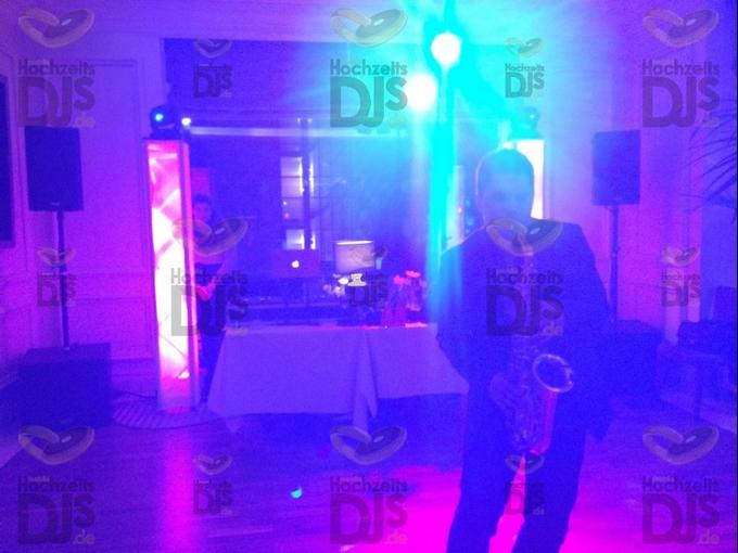 Saxophonist im Steigenberger Parkhotel
