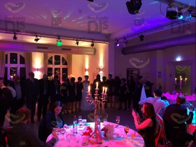 Hochzeitsfeier in der Villa Media