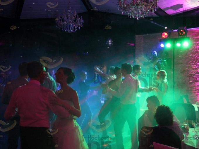 Hochzeitsfeier in der Villa Vue
