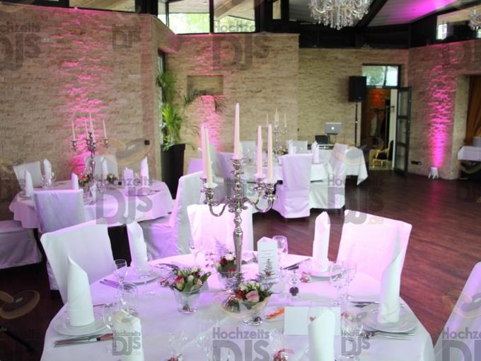 Hochzeitsdekoration in der Villa Vue