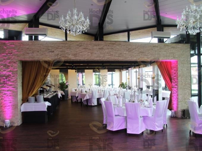 Ambiente mit Floorspots in der Villa Vue