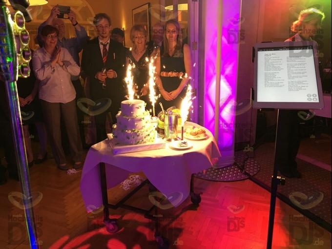Hochzeitstorte im Waldhotel Heiligenhaus