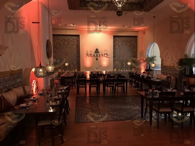 Vorebereitung auf die Gäste im ArabesQ
