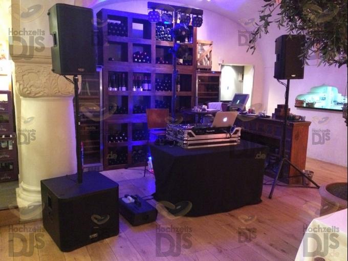 Aufbau DJ-Paket Elegance im ArabesQ