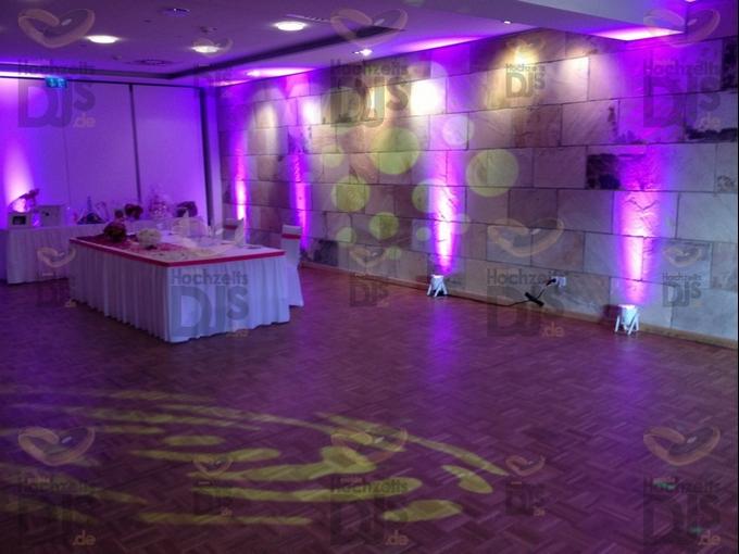 Ambiente mit Floorspots im Golfhotel Vesper