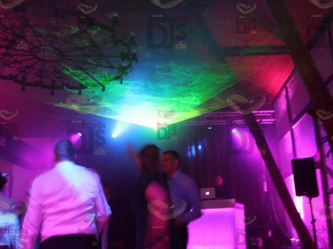 Lasershow im Golfhotel Vesper