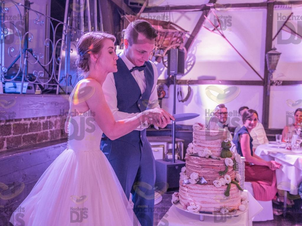 Hochzeitstorte im Gut Hahn