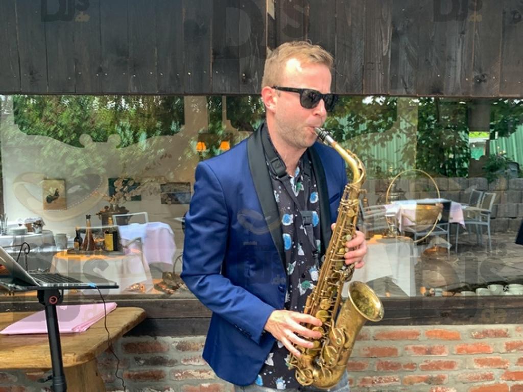 Saxophon im Gut Hahn