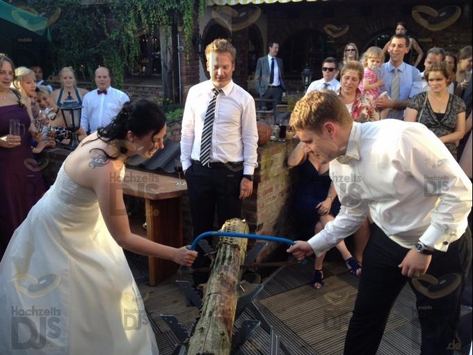 Hochzeitsspiel im Gutsherrensaal