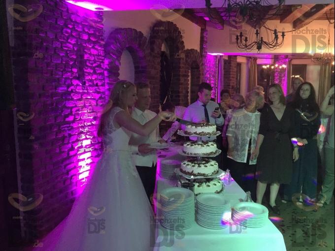 Hochzeitstorte im Gutsherrensaal