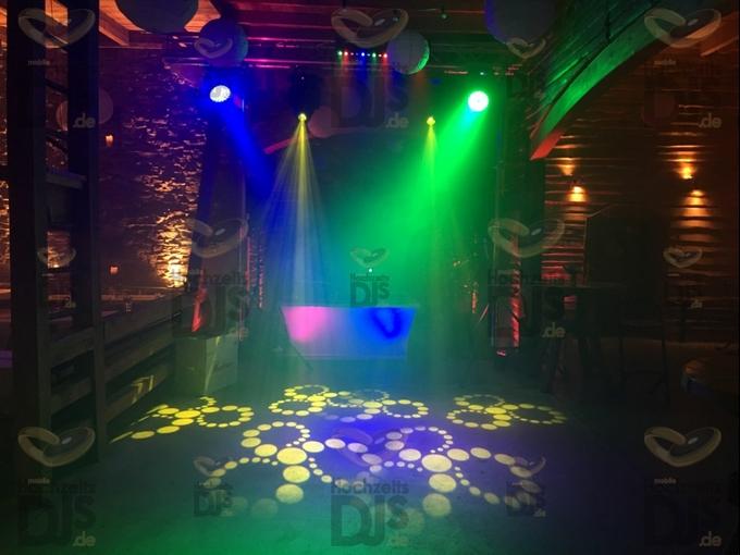 Aufbau DJ-Paket Superior A mit Nebel bei Bauer Kamesheidt