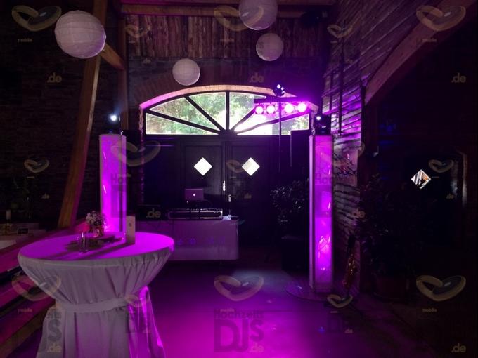 Aufbau DJ-Paket Superior B bei Bauer Kamesheidt
