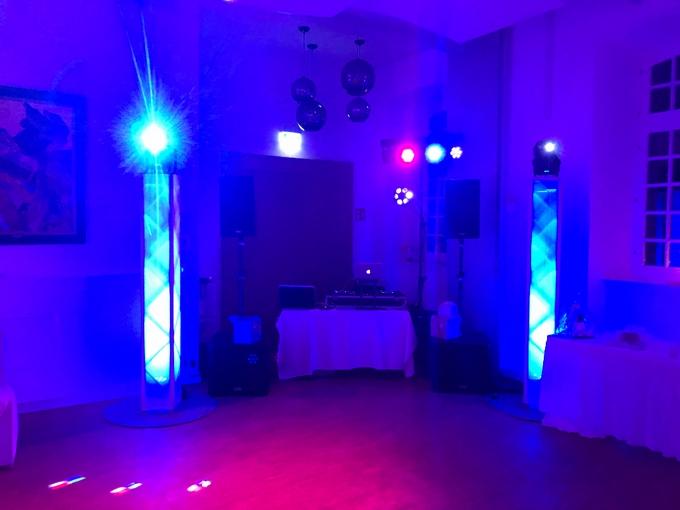 Lichttechnik des DJ Pakets Superior B in der Abtei Brauweiler