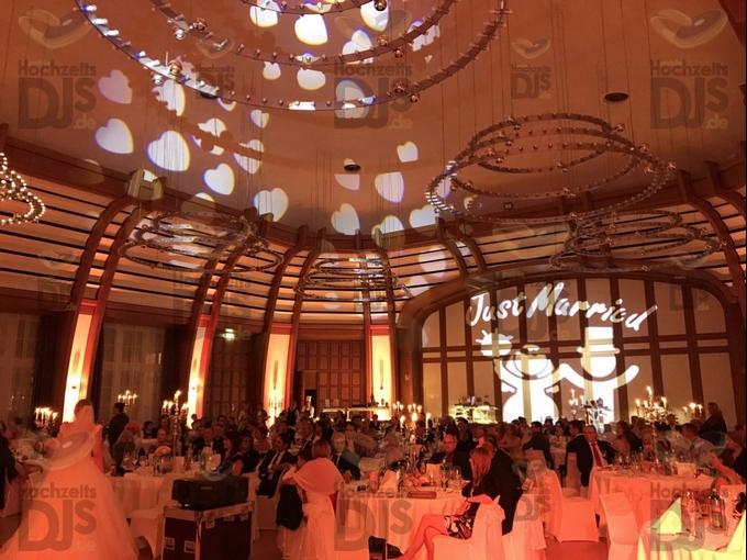 Hochzeitsdinner im Bayer Kasino