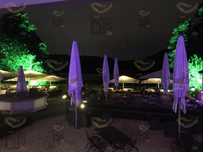 HQI Scheinwerfer im Club Astoria Köln