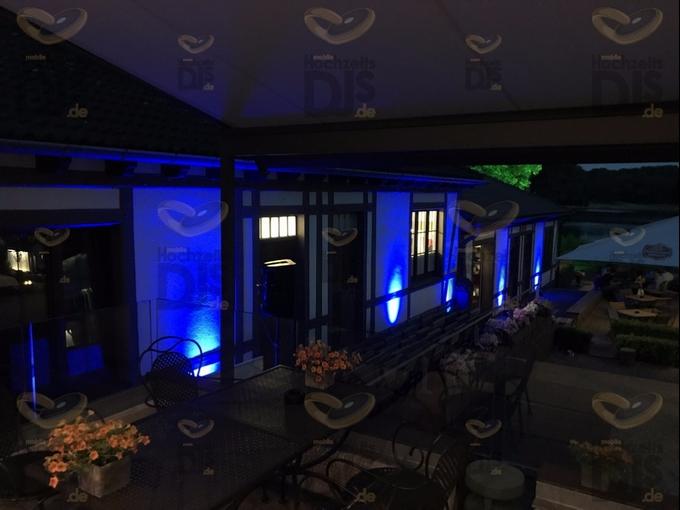 Aussenbeleuchtung im Club Astoria Köln