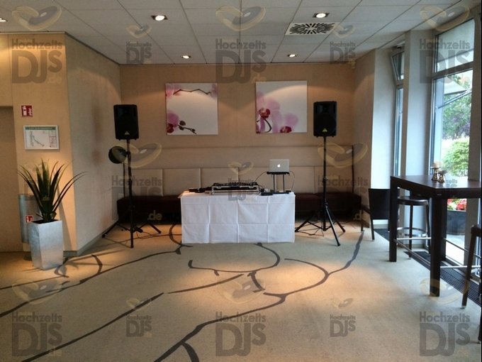 Aufbau DJ-Paket Elegance im Daylis