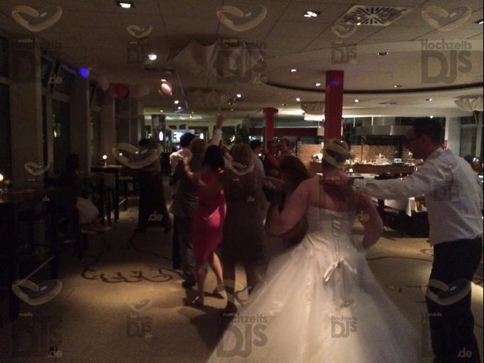 Hochzeitsfeier im Daylis