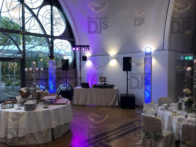 Aufbau DJ-Paket Superior B in der Flora Köln