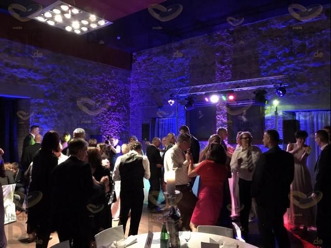 Hochzeitsparty in der Godesburg
