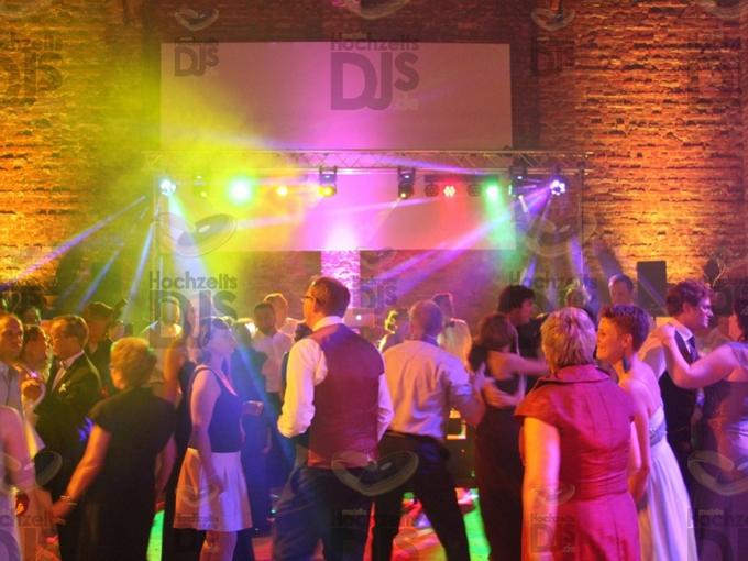 DJ-Paket Superior A in der Bergermannscheune