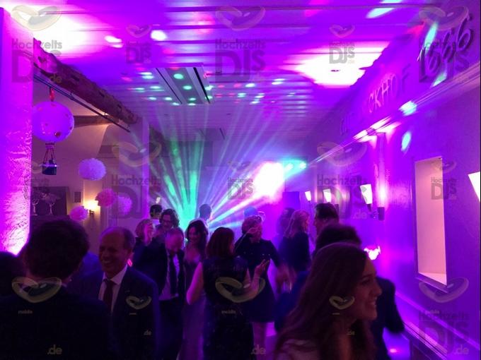 Hochzeitsparty in Gut Dyckhof