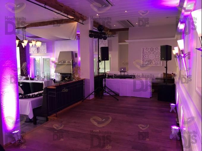 DJ-Paket Elegance mit Floorspots in Gut Dyckhof