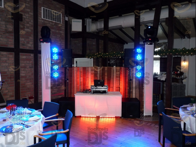 Aufbau DJ-Paket Superior B in Gut Mydlinghoven