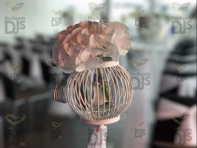 Hochzeitsdeko im Kameha Grand Hotel Bonn