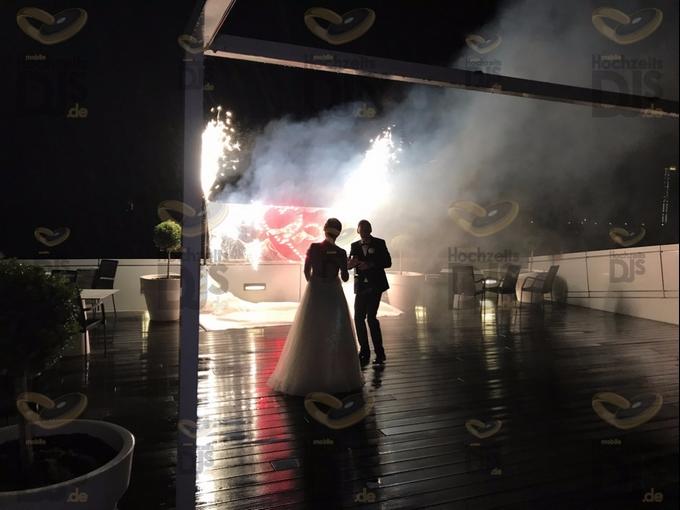 Feuerwerk im Kameha Grand Hotel Bonn