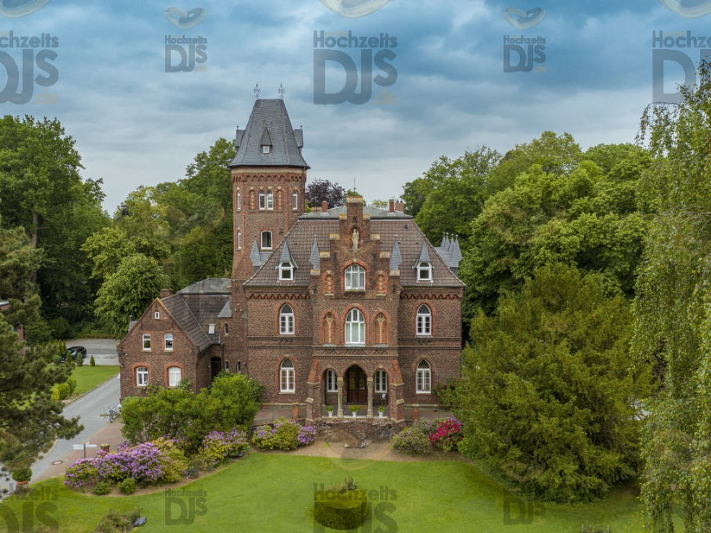 Drohne in der Marienburg Monheim