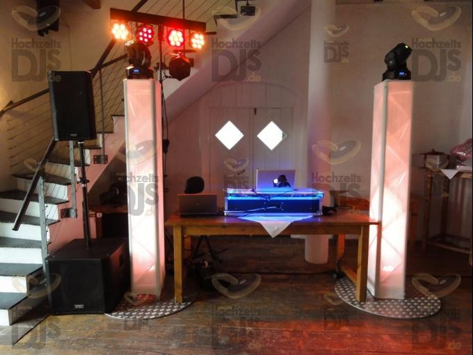 Aufbau DJ-Paket Superior B im Niemeshof