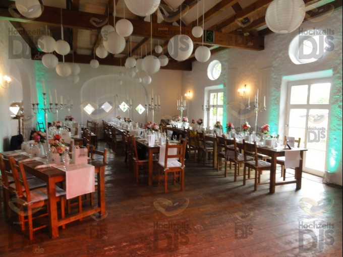 vor dem Dinner im Niemeshof
