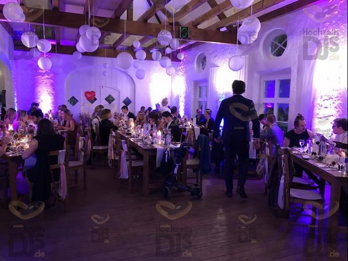 Hochzeitsdinner im Niemeshof