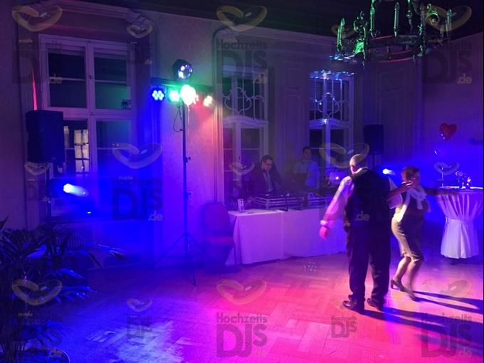 DJ-Paket Elegance mit Lichttechnik in Schloss Garath Düsseldorf