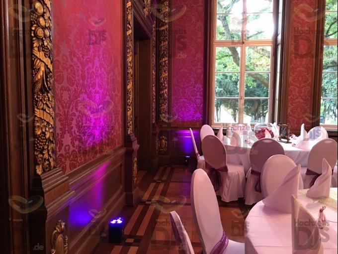Ambiente mit Floorspots in Schloss Garath Düsseldorf