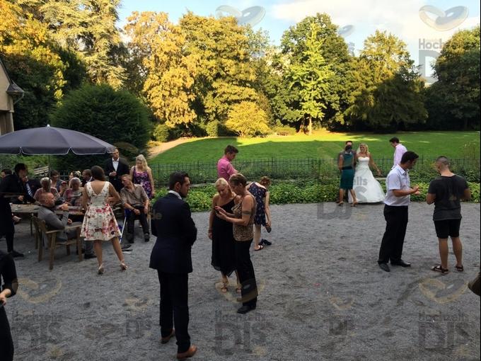 Sektempfang in Schloss Garath Düsseldorf