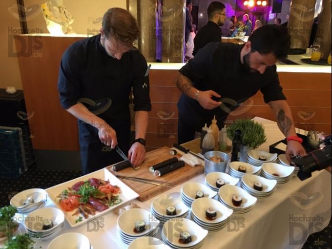 Sushi Buffet in Schloss Garath Düsseldorf