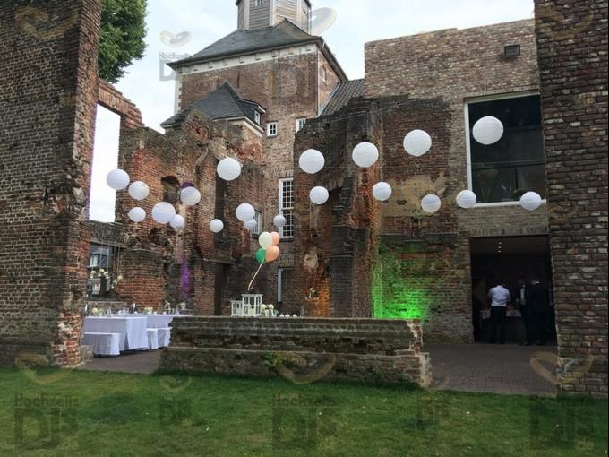Sektempfang in Schloss Hertefeld Weeze