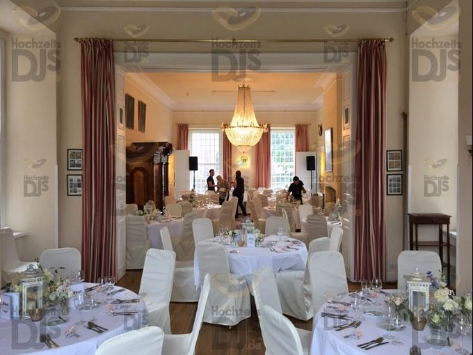 Dinnervorbereitung in Schloss Hertefeld Weeze
