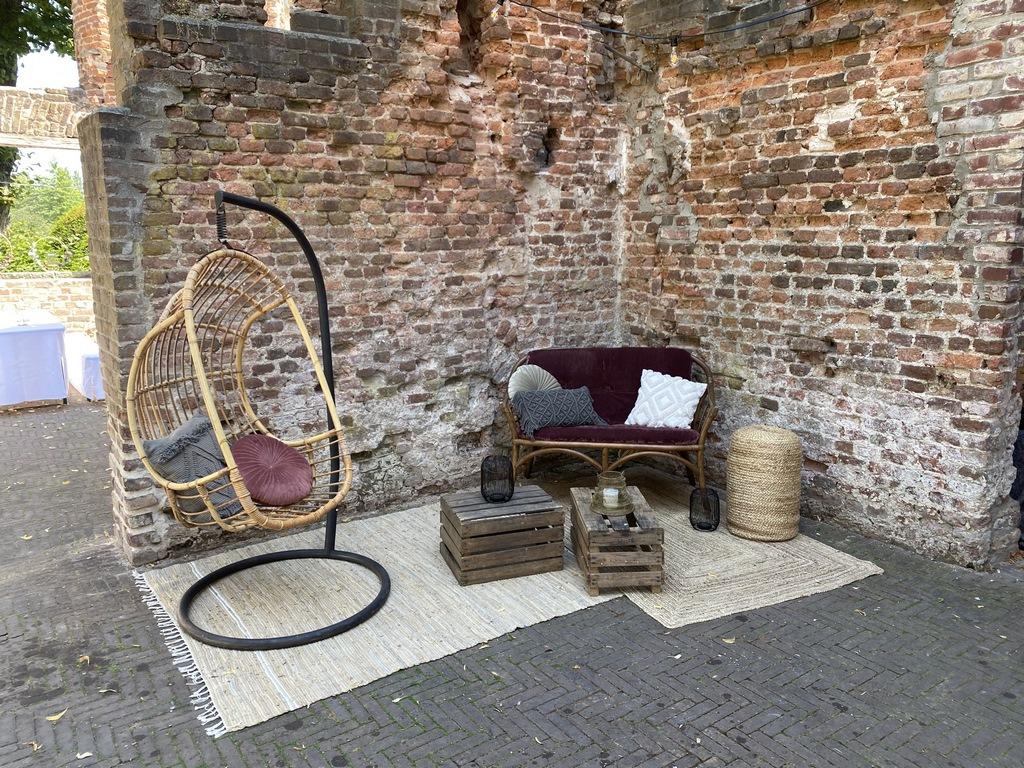 Lounge in Schloss Hertefeld Weeze