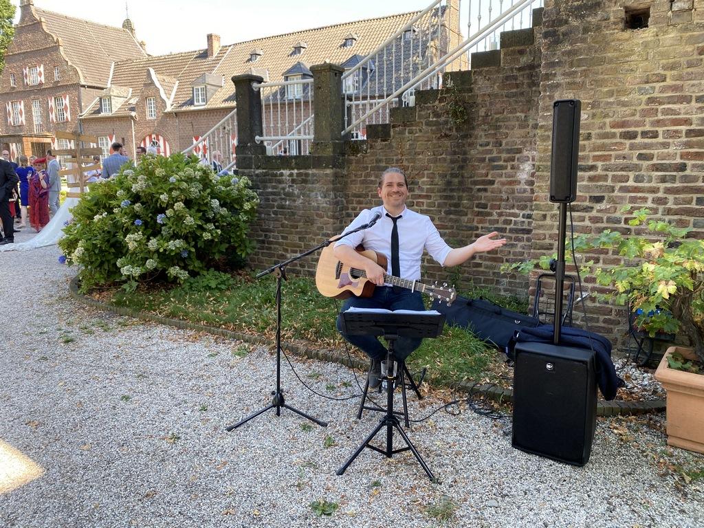 Musiker in Schloss Hertefeld Weeze