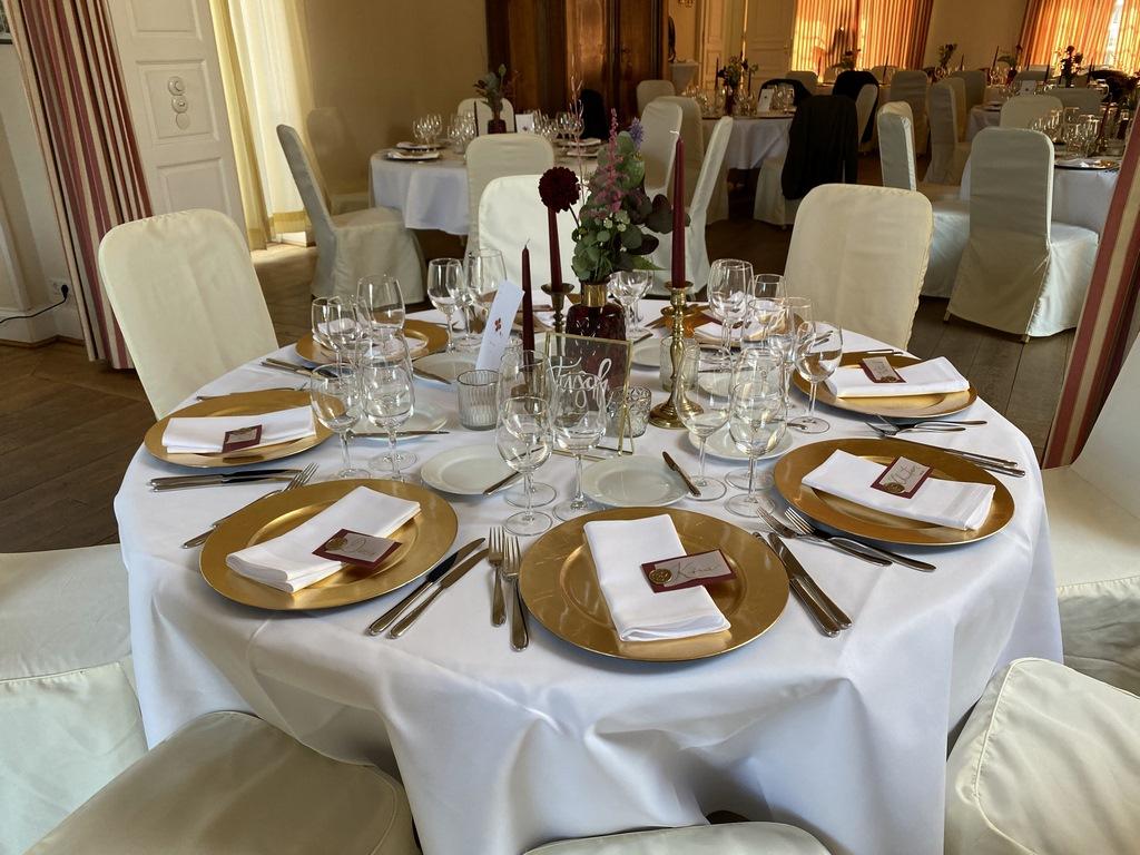 Dinner in Schloss Hertefeld Weeze
